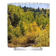 Crystal Creek Autumn Shower Curtain