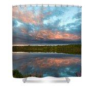 D J Landscape Shower Curtain