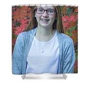 Family Pictures Shower Curtain