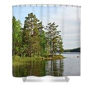 Haukkajarvi Shower Curtain
