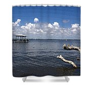 Indian River Lagoon Shower Curtain