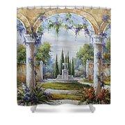 Italian Historical Villas Shower Curtain