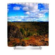 Landscape Painting Oil Shower Curtain