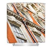 London Building  Shower Curtain
