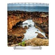 M N Landscape Shower Curtain