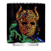 Mask. The Sons Of The Harpy. Fantasy. Shower Curtain