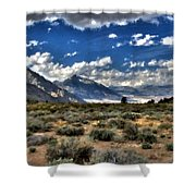 Poster Landscape Shower Curtain