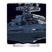 Star Wars At Art Shower Curtain