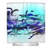 160518ba Shower Curtain