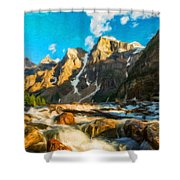 Landscape Pictures Nature Shower Curtain