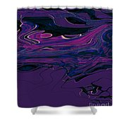 1673 Abstract Thought Shower Curtain