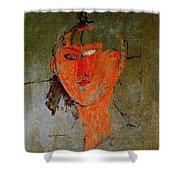 16937 Amedeo Modigliani Shower Curtain