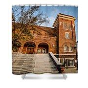 16th Street Baptist Church Steps In Birmingham Alabama Shower Curtain