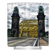 16th Street Bridge Shower Curtain