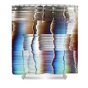 16x9.186-#rithmart Shower Curtain