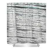 16x9.255-#rithmart Shower Curtain