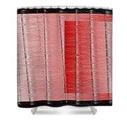 16x9.291-#rithmart Shower Curtain