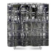 16x9.85-#rithmart Shower Curtain