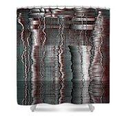 16x9.94-#rithmart Shower Curtain