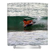 Australia - The Surfer Shower Curtain
