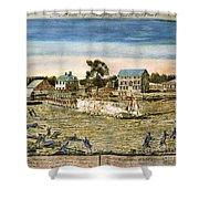 Battle Of Lexington, 1775 Shower Curtain