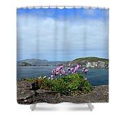 Blasket Islands Shower Curtain
