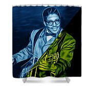 Bo Diddley Collection Shower Curtain