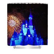 Cinderella Castle Shower Curtain