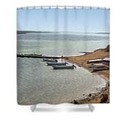 Colombia La Guajira Playa La Boquita  Shower Curtain