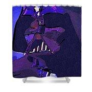 Galaxies Star Wars Art Shower Curtain