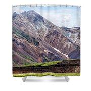 Landmannalaugar - Iceland Shower Curtain