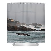 17 Mile Drive - Monterey Shower Curtain