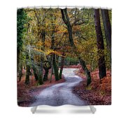 New Forest - England Shower Curtain