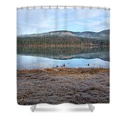 Palsko Lake Shower Curtain