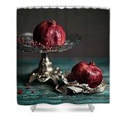 Pomegranate Shower Curtain