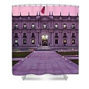 Santiago De Chile Shower Curtain