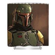 Star Wars Episode 3 Poster Shower Curtain