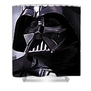 Star Wars Episode 5 Art Shower Curtain