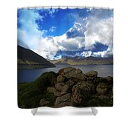 The Faroe Islands  Shower Curtain