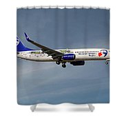 Travel Service Boeing 737-8cx Shower Curtain