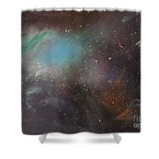 170,000 Light Years From Home Shower Curtain