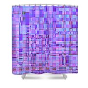 1704 Abstract Thought Shower Curtain
