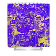1743 Abstract Thought Shower Curtain