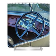 1743.032 1930 Mg Steering Shower Curtain