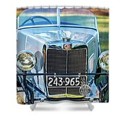 1743.037 1930 Mg Grill Shower Curtain