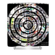 1766 Abstract Thought Shower Curtain