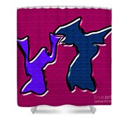 1771 Abstract Thought Shower Curtain