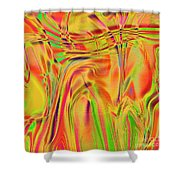 1788 Abstract Thought Shower Curtain