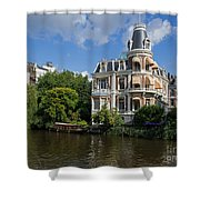 Canals Of Amsterdam Shower Curtain