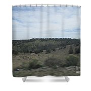Concho Landscape Shower Curtain